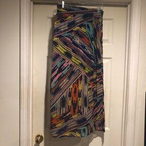 Dresses & Skirts - Multicolored maxi skirt